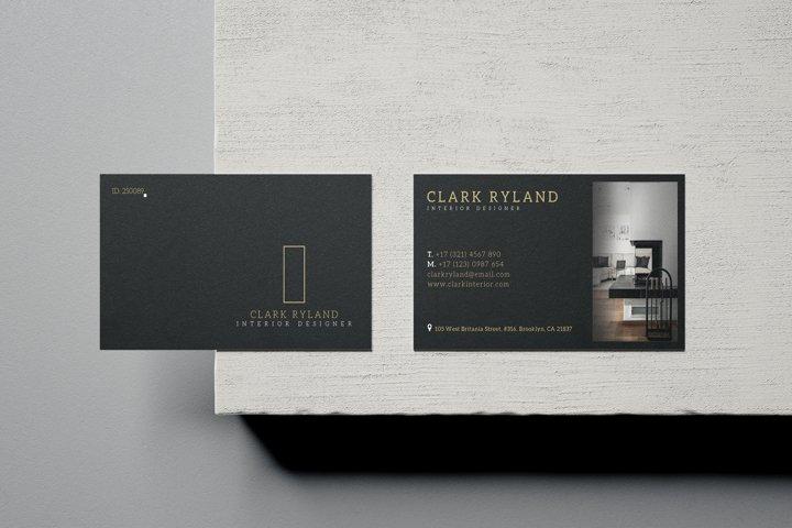 Interior Design Business Card - Vol.17