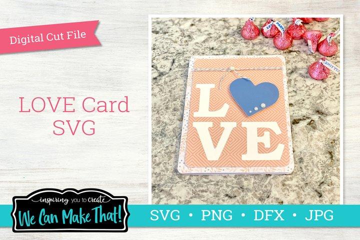 LOVE Card SVG
