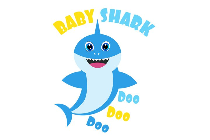 Baby shark Svg, Boy Shark clipart, funny shark svg, cricut