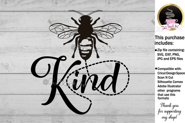 Bee Kind Bumble Bee svg Cutting files 1196