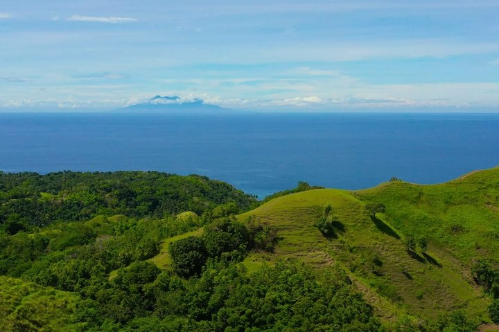 Hills and mountains with tropical vegetation. Bohol