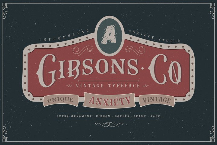 Gibsons Co Extra Ornament
