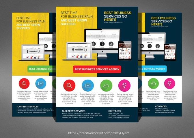 Creative Web Agency Flyer