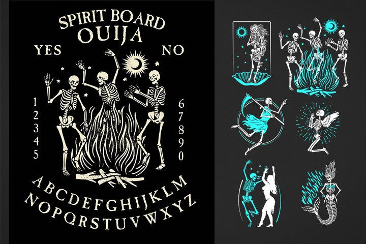 Skeletons Logos Collection