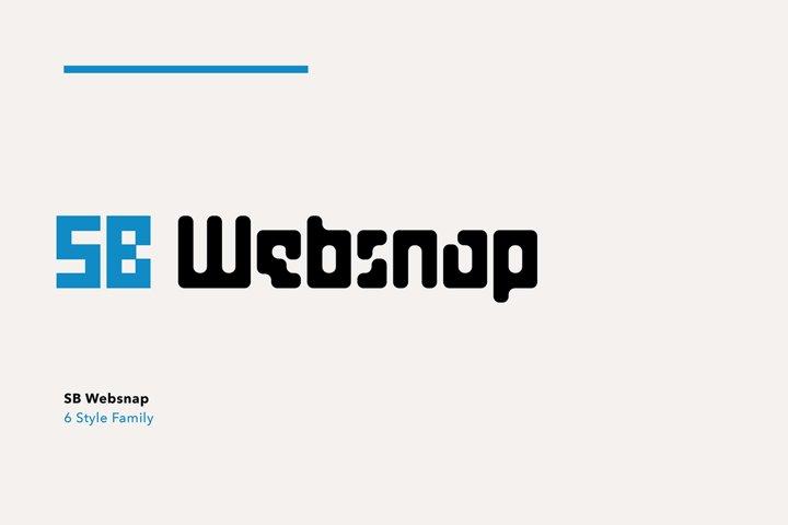 SB Websnap - Font Bundle