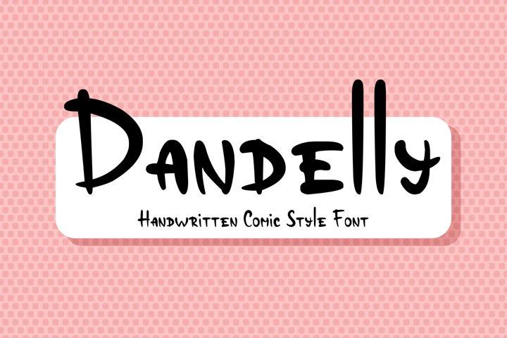 Dandelly - Playful Comic Font