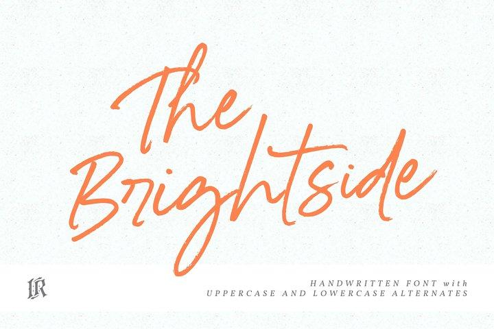 The Brightside Font
