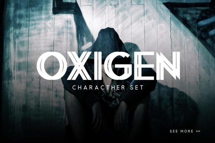 Oxigen | A Minimal Logo Typeface - Free Font of The Week Design3