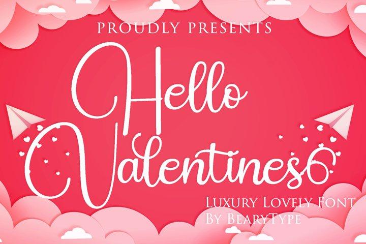 Hello Valentines