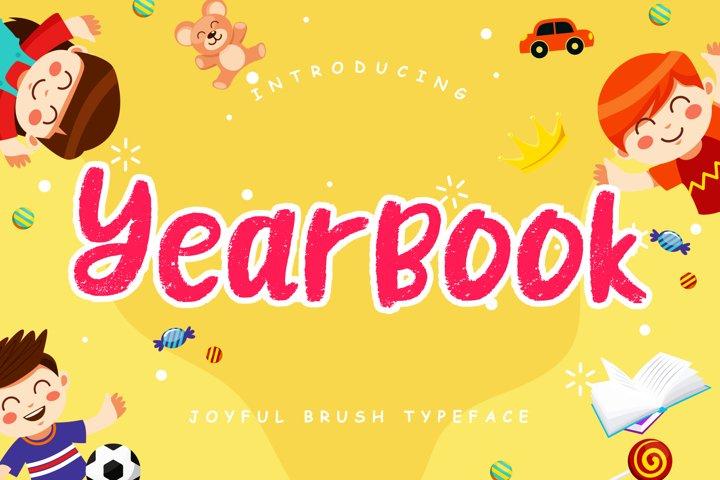 Yearbook Joyful Brush
