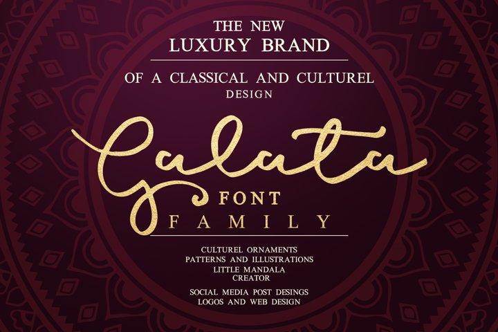 Galata Font Family