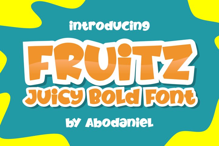 Fruitz - Free Font Of The Week
