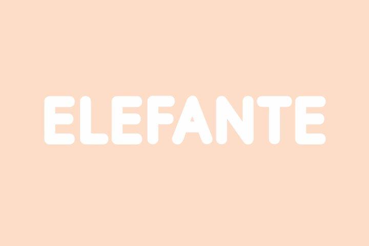 Elefante - Modern Rounded Font