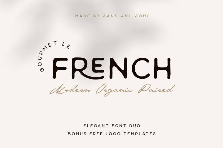Gourmet Le French - Modern Paired Duo
