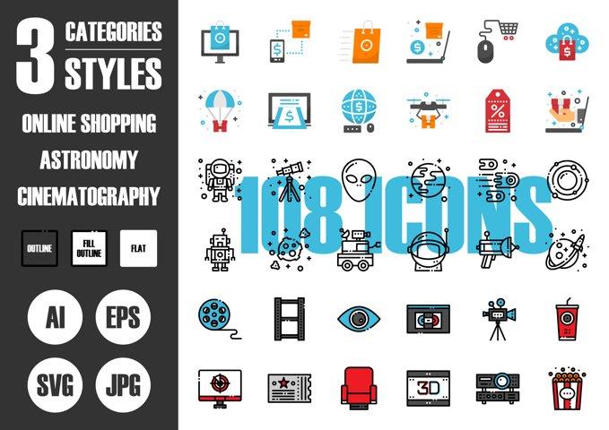 108 Pixel Perfect Icons Vol.4