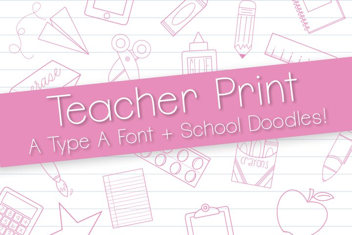 Teacher Print Duo