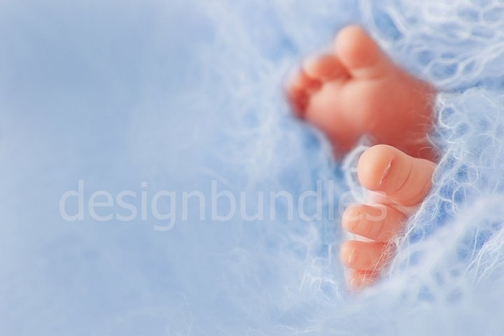 Greeting card or invitation for baby shower for baby boy