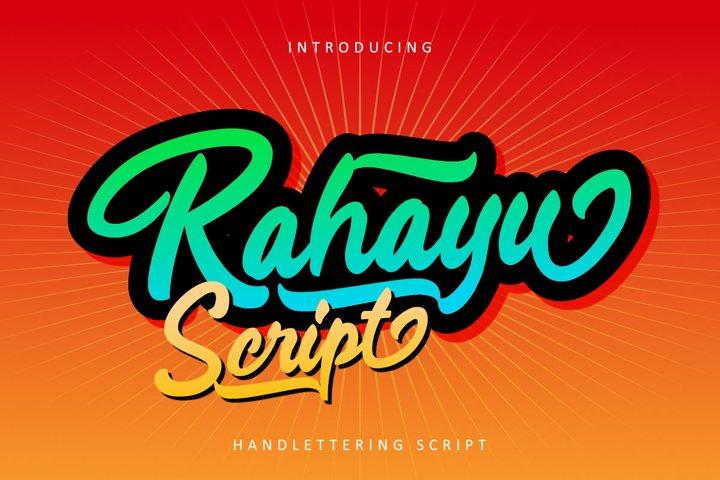 Rahayu Script