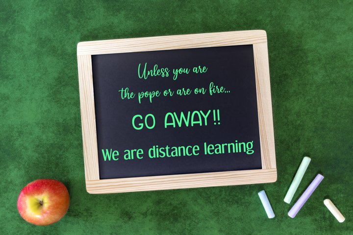 Distance Learning Cut Files - SVG & PNG