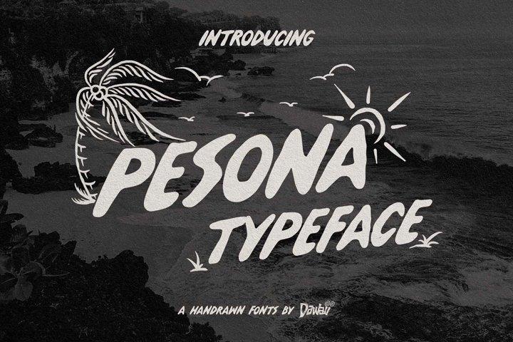 Pesona Typeface