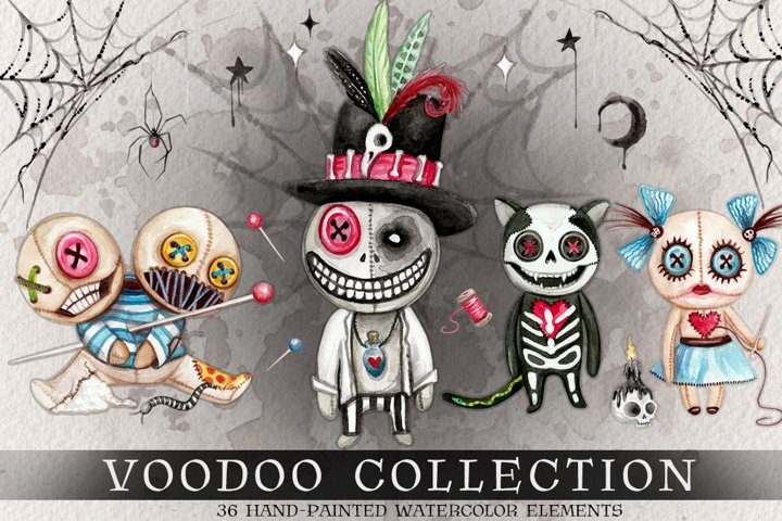 Watercolor Voodoo Collection