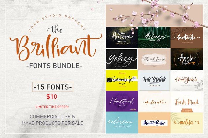 The Brilliant Fonts Bundle