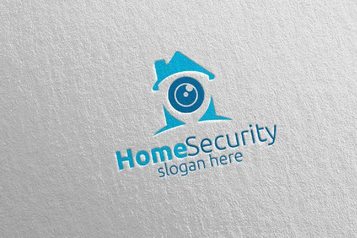 Camera CCTV Home Security Logo 4