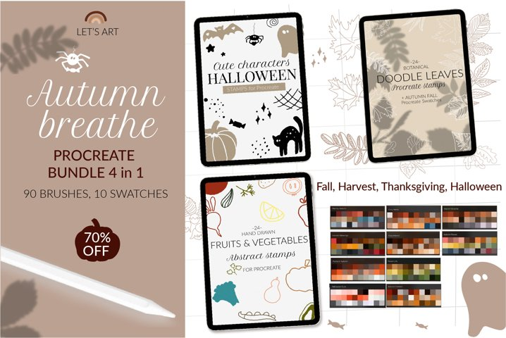 Autumn Procreate bundle