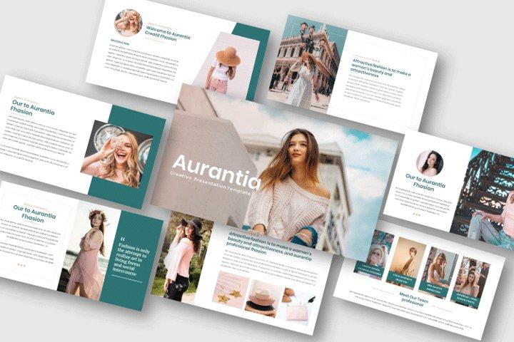 Aurantia - Creative Powerpoint Template