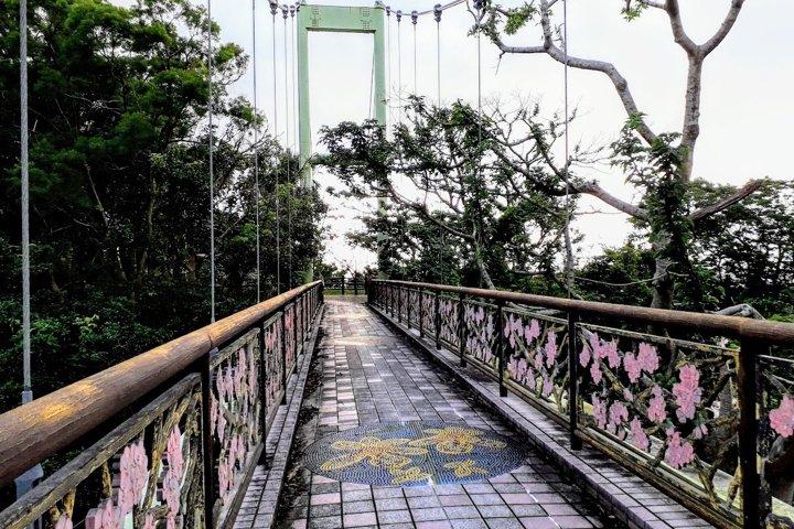 Bridge Photos Garden in Nago on Okinawa, Japan