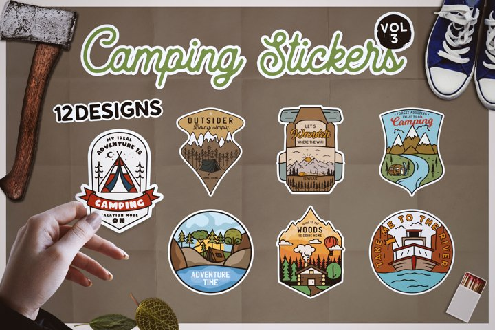 Sticker Bundle PNG! Printable Travel Stickers For Cricut SVG
