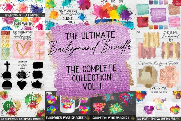 Sublimation Background Bundle |The Ultimate Collection PNG