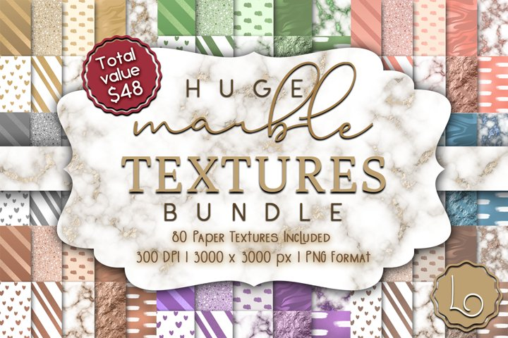Huge Marble Textures Bundle