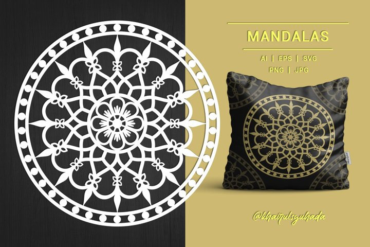 Mandala Love, Monochrome