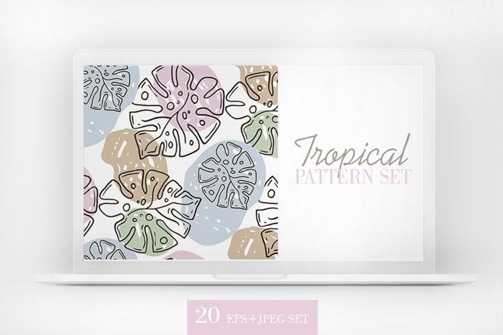 Tropical pattern mega set