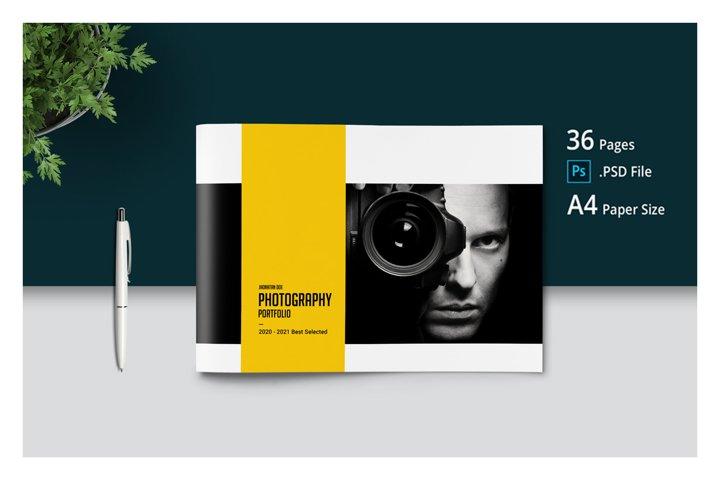 PSD Photography Portfolio Template