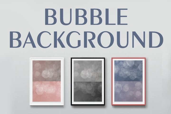 12 BUBBLE BACKGROUND IN JPEG