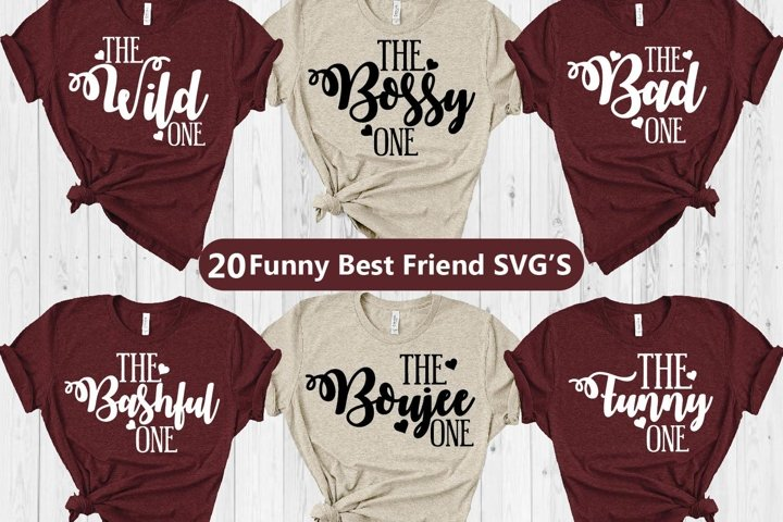 Funny best friend svgs, BFF svgs, bff svg, best friend svgs