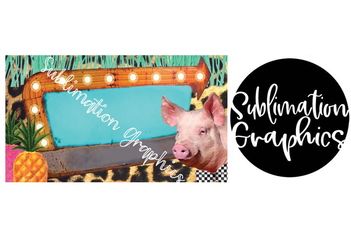 Funky Pig Business Card Digital Download