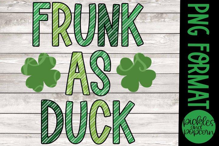 Frunk As Duck Striped