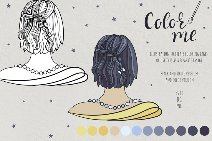 Color me. Womens hairstyle #5