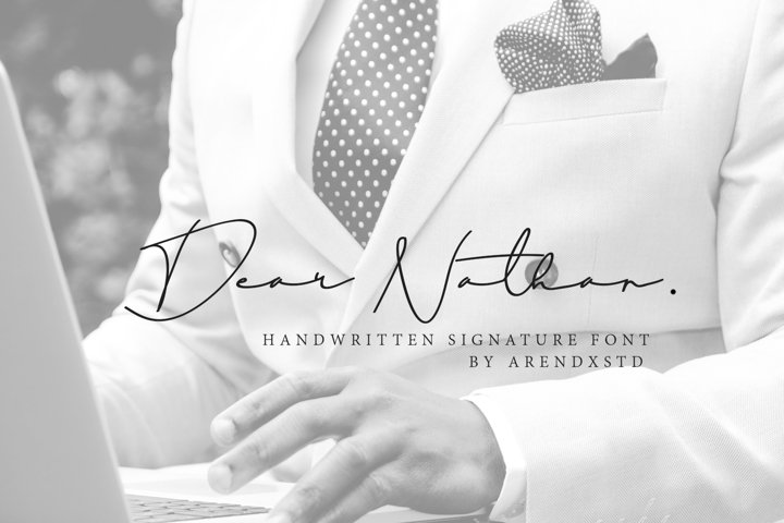Dear Natha Handwritten Signature