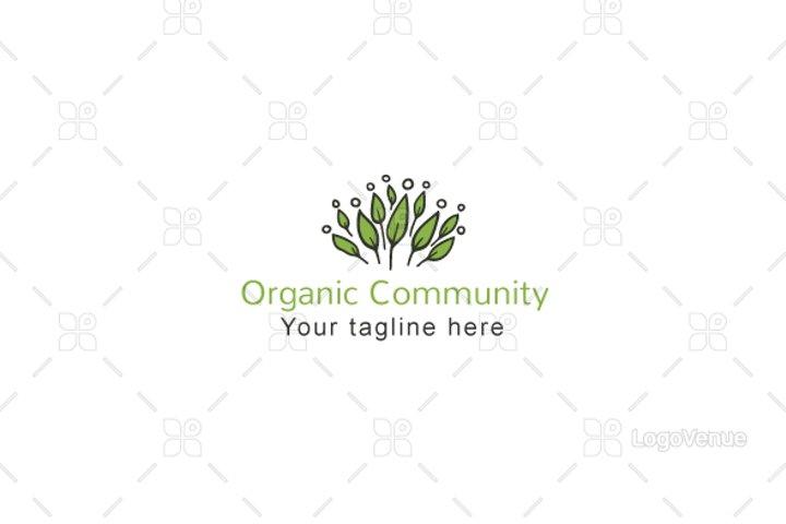 Organic Community - Environmental Group Logo Template