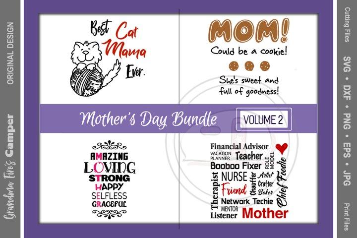 Mothers Day SVG Bundle, Vol 2