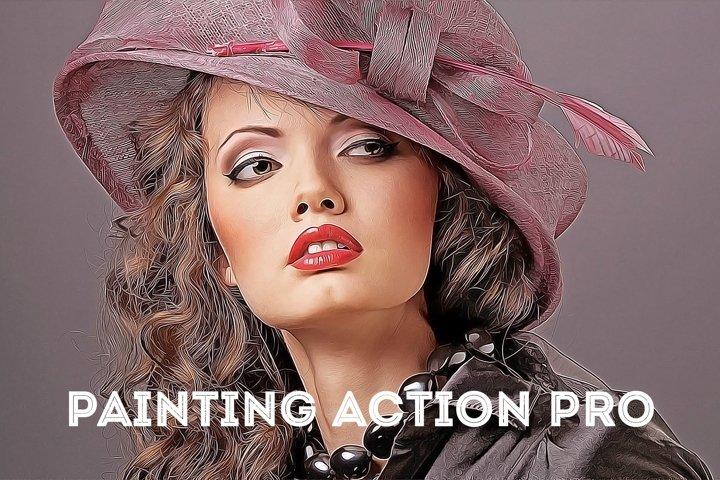 Painting Action Pro! Photoshop