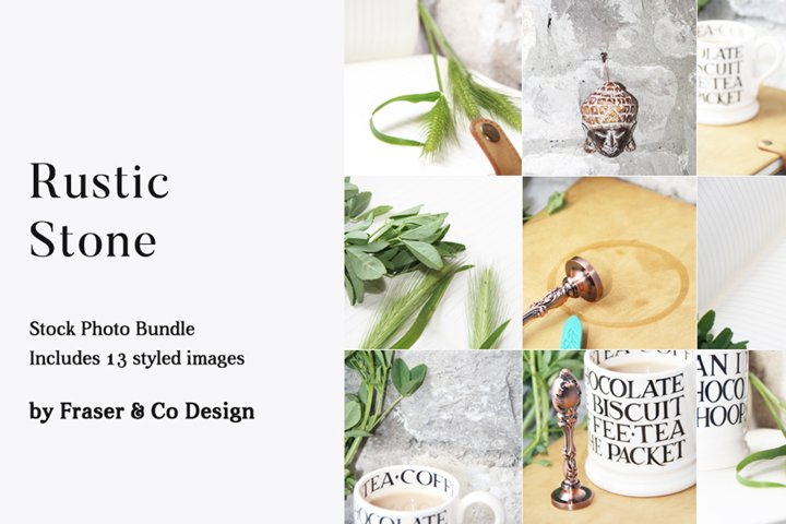 Rustic Stone - Stock Photo Bundle