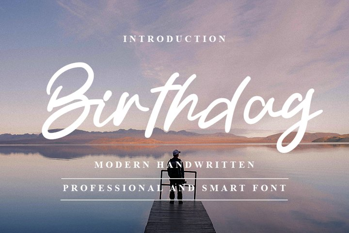 Birthday - Smart and Beautiful Font