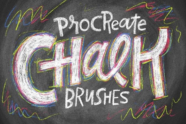 Chalk Brushes for Procreate