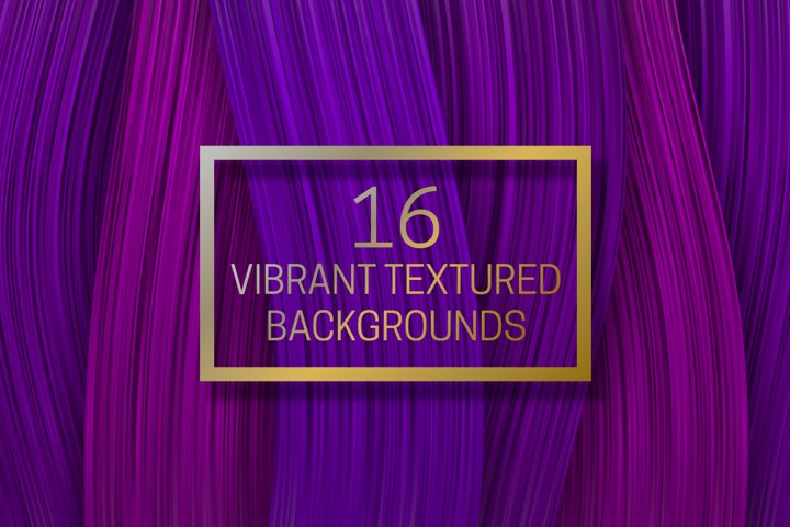 16 vibrant textured backgrounds