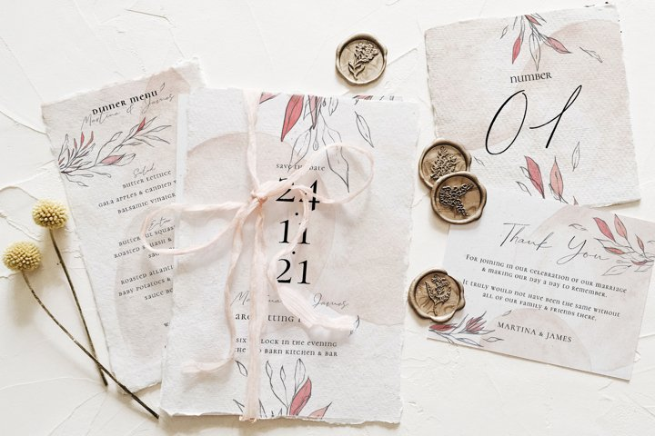 Blush & Foliage Wedding Suite